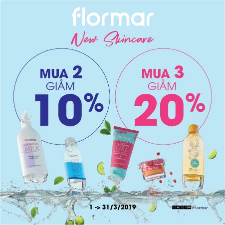 Lần đầu tiên Flormar ra mắt bộ sản phẩm Skincare dưỡng da hoàn toàn mới!